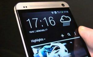 Heure smartphone